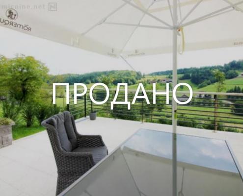 2 новых дома в получасе от Любляны за 129 000 EUR каждый