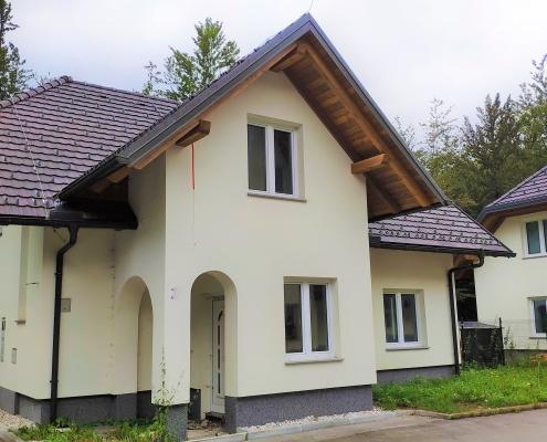 Новый дом на озере Бохинь, жемчужина Словении