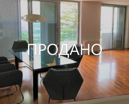 3х комнатный пентхаус с открытым видом на море, собственным бассейном и лифтом в Портороже