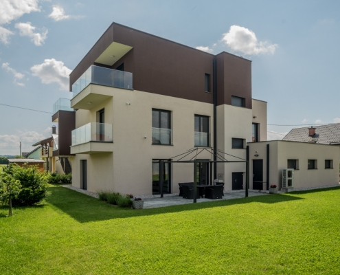 New 3-storey house in the near suburbs of Ljubljana