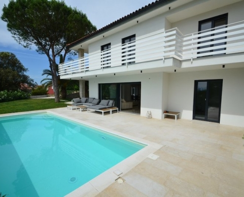 Modern villa with pool in Portorož