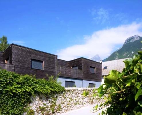 Дуплекс с террасой в самом центре Бовца в сердце Альпийской Словении