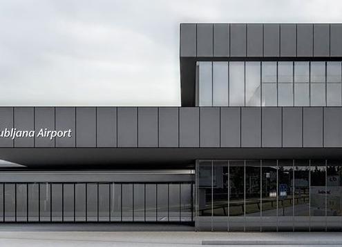 Новый терминал аэропорта Любляны