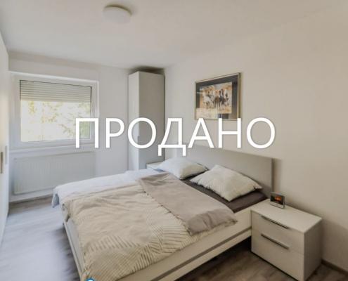 2х комнатная квартира в Любляне, район Чрнучи