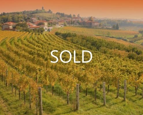 Farm with vineyards in the center of the wine region Goriška Brda