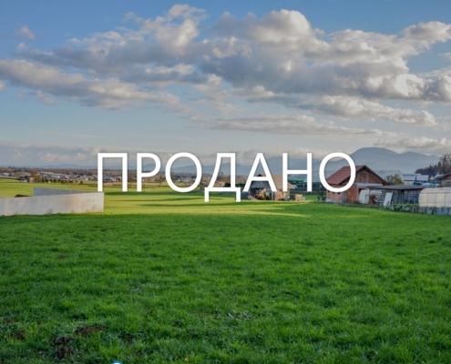 Участок земли под строительство 6 домов в непосредственной близости от Любляны в Подсмреке