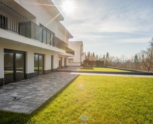 Новый современный дом рядом с Любляной