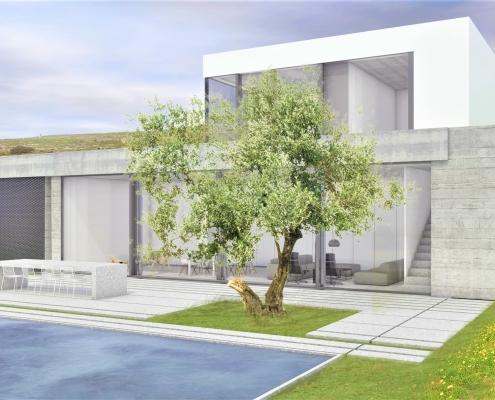 Участок с открытым видом на море под строительство дома между Пираном и Порторожем