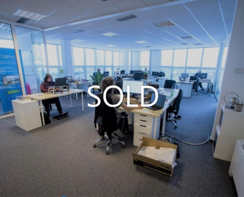 Office with a long-term lease agreement in a A-class business center in Ljubljana