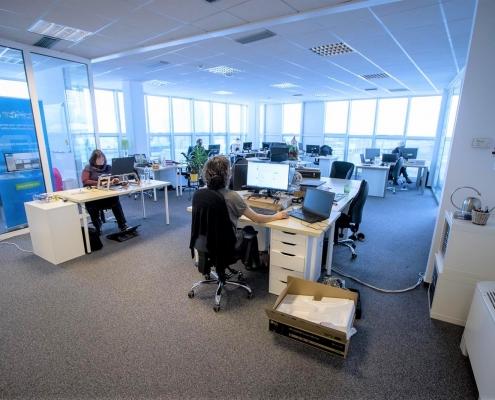 Офис с долгосрочным договором аренды в бизнес центре класса А в Любляне