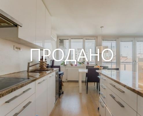 Светлая 3х комнатная квартира в центре Любляны