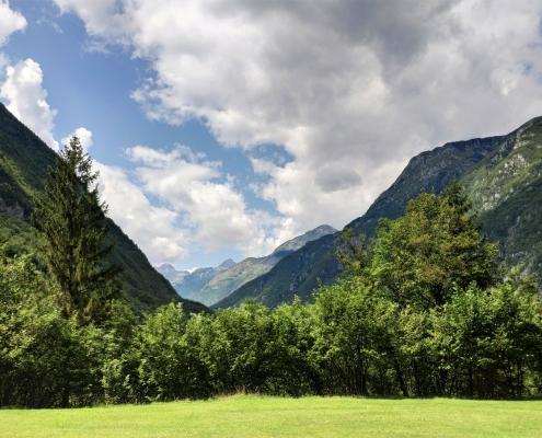 Популярный комплекс для отдыха 4* в альпийской части Словении.
