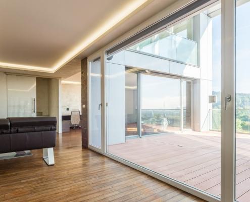 Modern duplex with magnificent views of Ljubljana