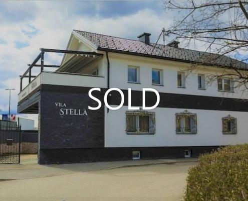 Aparthotel Vila Stella in Ljubljana | Ongoing business for sale