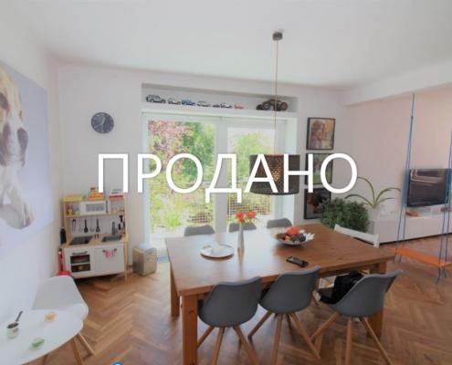 Светлый 3х комнатный дуплекс в Любляне
