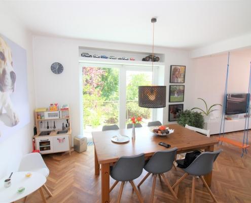 Light 3-room duplex in Ljubljana