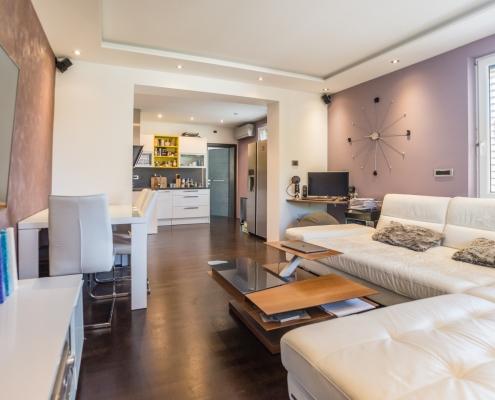 3х комнатная квартира с большой террасой, садом и гаражом на престижной локации в Любляне
