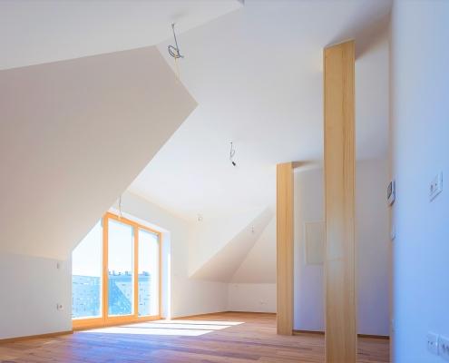 Novo 3-sobno stanovanje v zgornjem nadstropju v Ljubljani, Šiška
