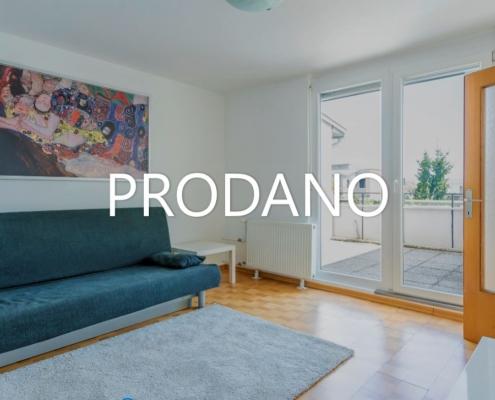 Prijetno in svetlo 2.5 sobno stanovanje v Ljubljani, Koseze-Šiška