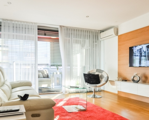 3-room apartment in Ljubljana in a modern residential complex